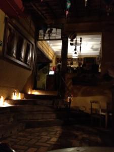 サンパウロのレストラン「Forneria do Santa」店内